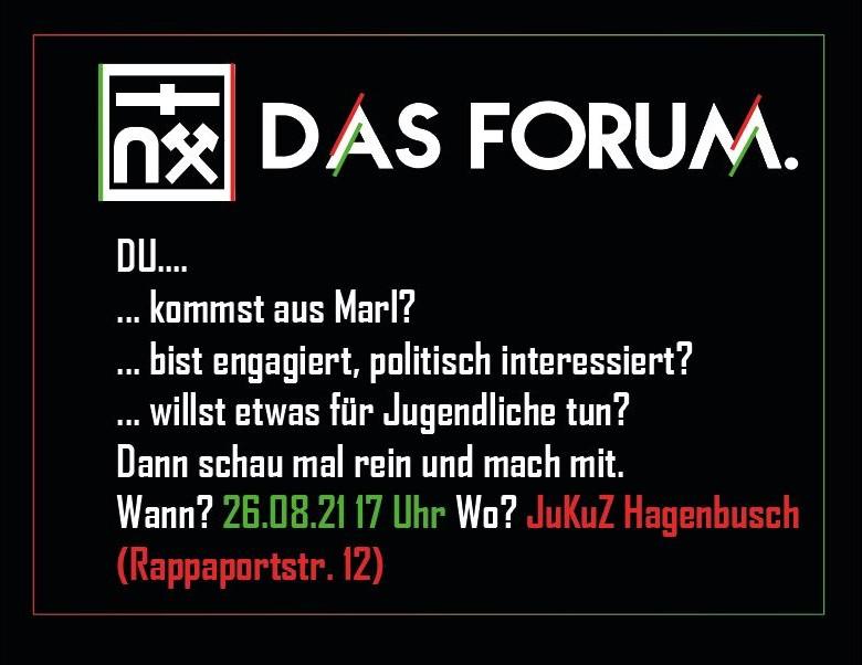 UPDATE: Treffen am JuKuZ Hagenbusch